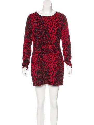 Michael Michael Kors Long Sleeve Knit Dress None