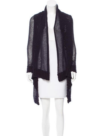 Michael Michael Kors Open Front Knit Cardigan None