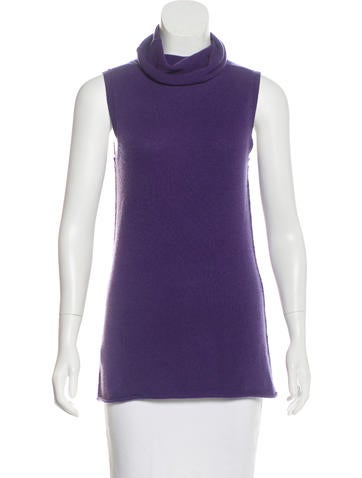 Michael Michael Kors Cashmere Turtleneck Top None