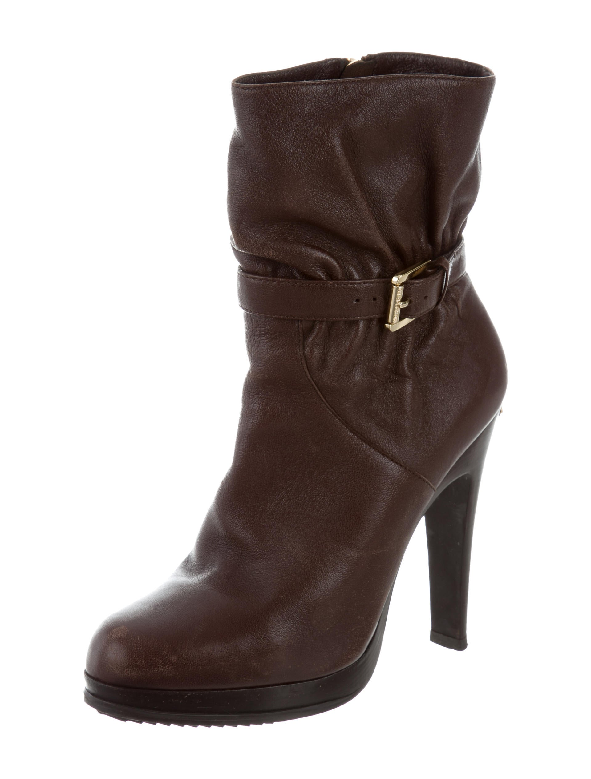 michael michael kors ruched ankle boots shoes wm521937