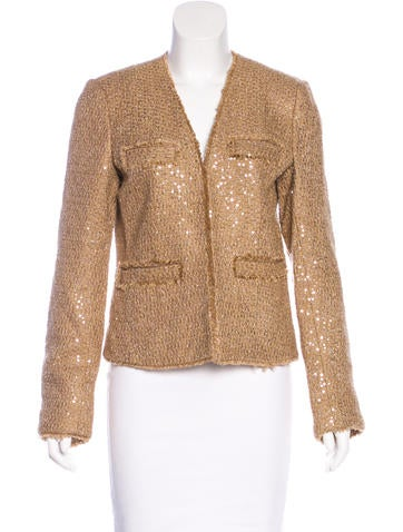 Michael Michael Kors Sequin Knit Jacket w/ Tags None