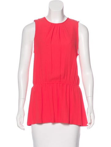 Michael Michael Kors Sleeveless Round Neck Top w/ Tags None