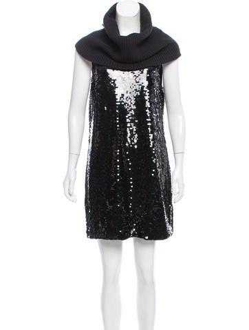 Michael Michael Kors Sequin Mini Dress None
