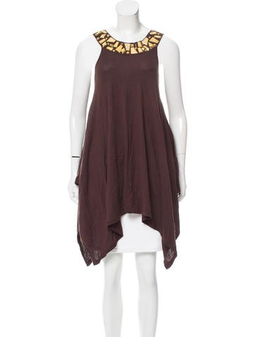 Michael Michael Kors Embellished Sleeveless Top None