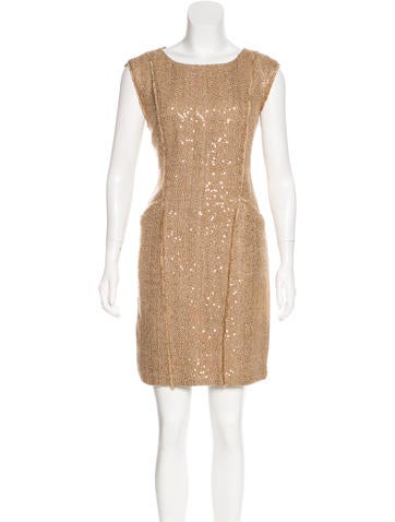 Michael Michael Kors Embellished Knee-Length Dress None