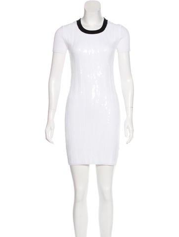 Michael Michael Kors Sequin Rib Knit Dress None