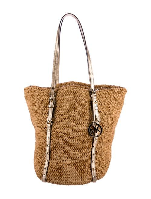 df9363ce0765 Michael Michael Kors Large Raffia Tote - Handbags - WM523460