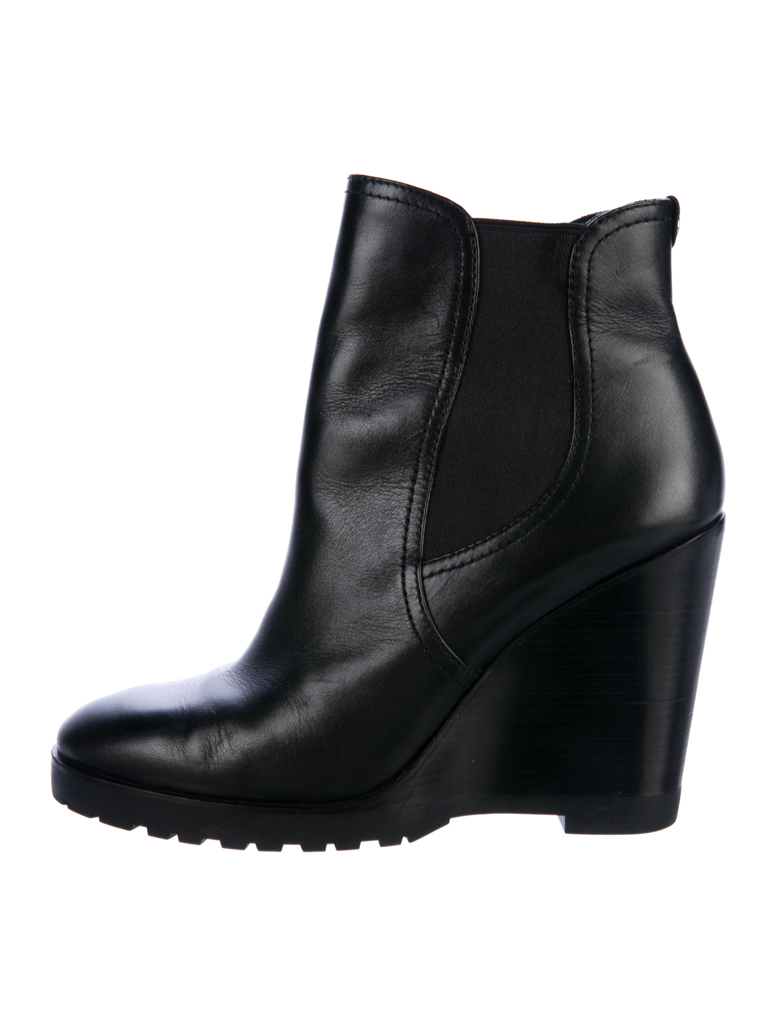 4bc75ac45e1 Michael Michael Kors Thea Wedge Boots - Shoes - WM523588