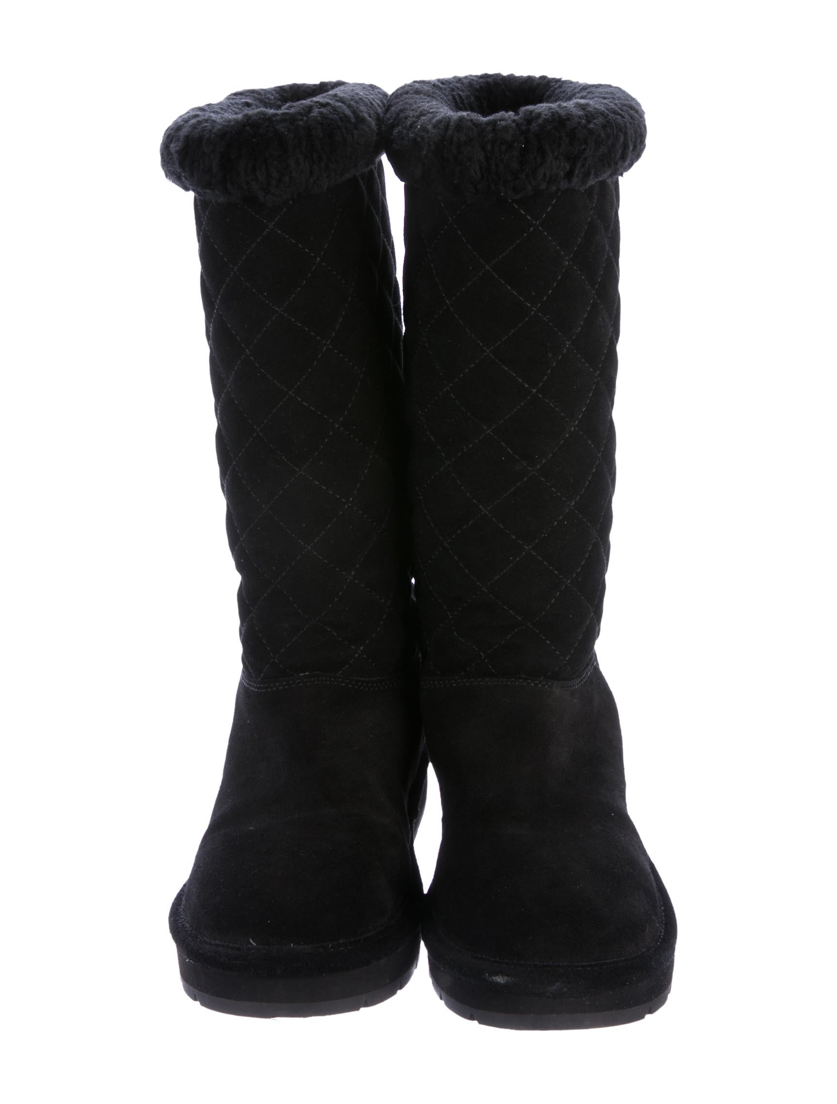 Michael Michael Kors Sandy Quilted Boots Shoes