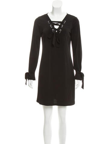 Michael Michael Kors Long Sleeve Knit Dress w/ Tags None