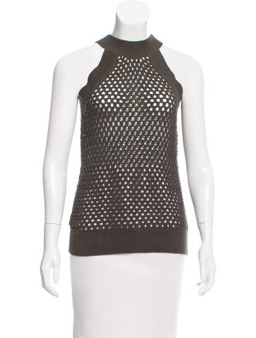 Michael Michael Kors Sleeveless Knit Top None