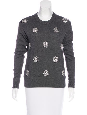 Michael Michael Kors Knit Embellished Sweater w/ Tags None