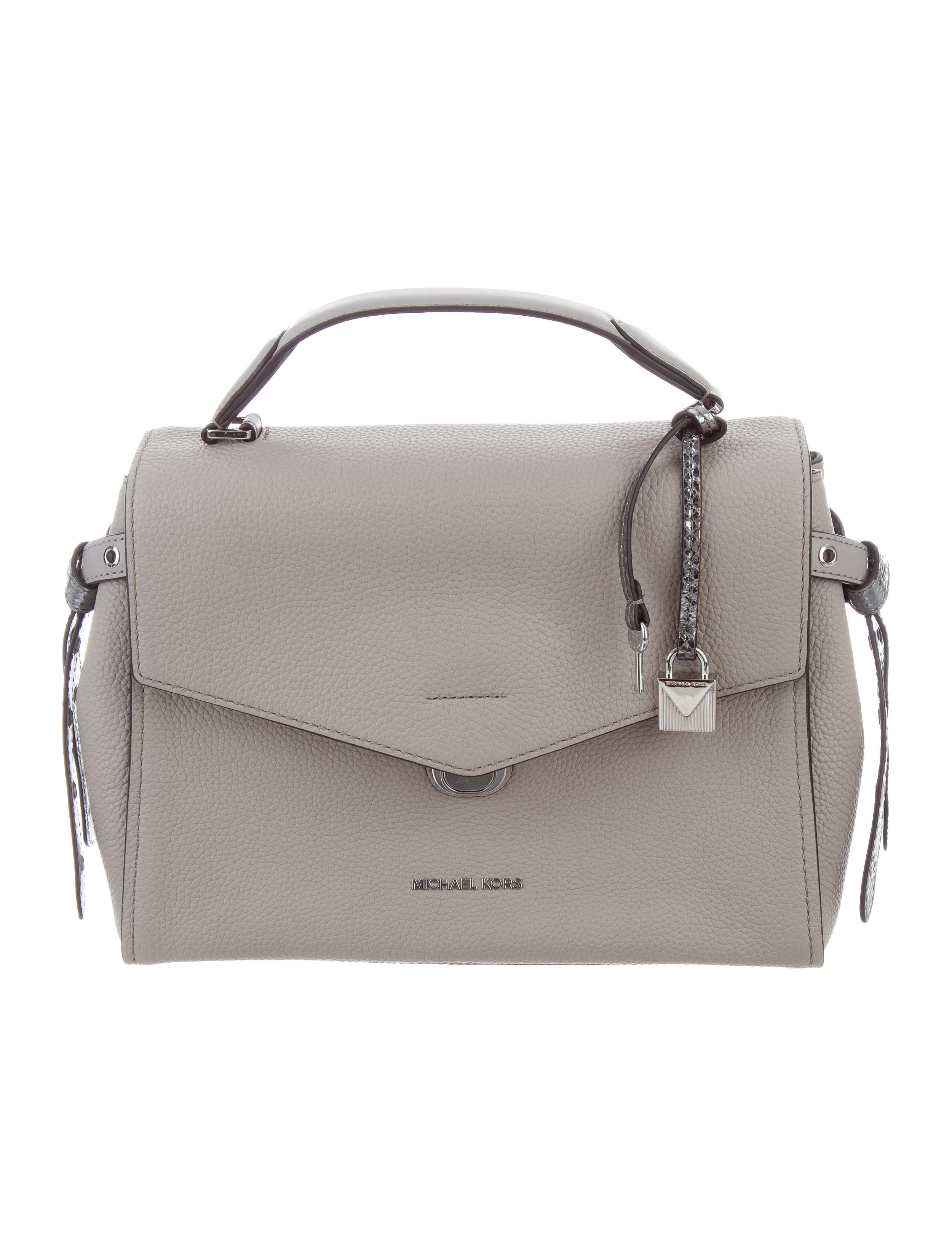 2b6c6bb2b8610 Michael Michael Kors Medium Bristol Satchel w  Tags - Handbags ...