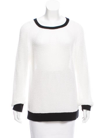 Michael Michael Kors Open-Knit Sweater None