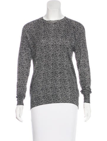 Michael Michael Kors Printed Embellished Sweater None
