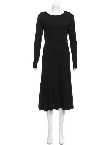 Michael Michael Kors Long Sleeve Midi Dress w/ Tags None