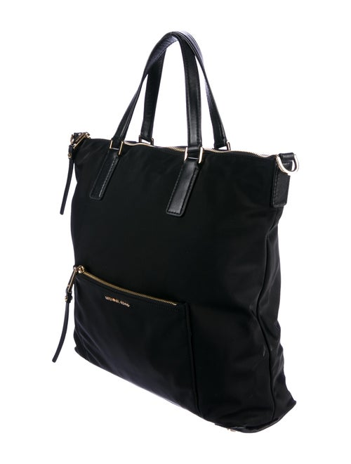 3c00b86200df Michael Michael Kors Ariana Large Nylon & Leather Tote - Handbags ...