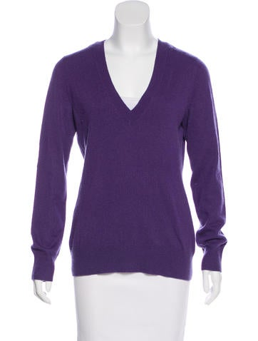 Michael Michael Kors Cashmere V-Neck Sweater None
