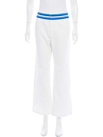 Michael Michael Kors Mid-Rise Wide-Leg Jeans None