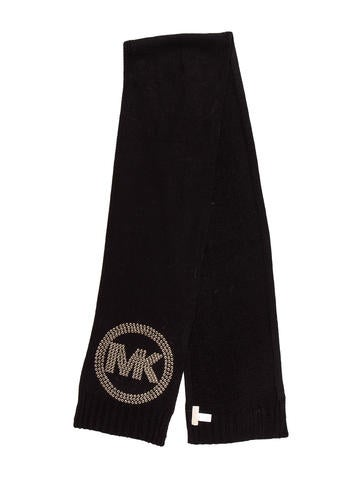 Michael Michael Kors Knit Embellished Scarf w/ Tags None