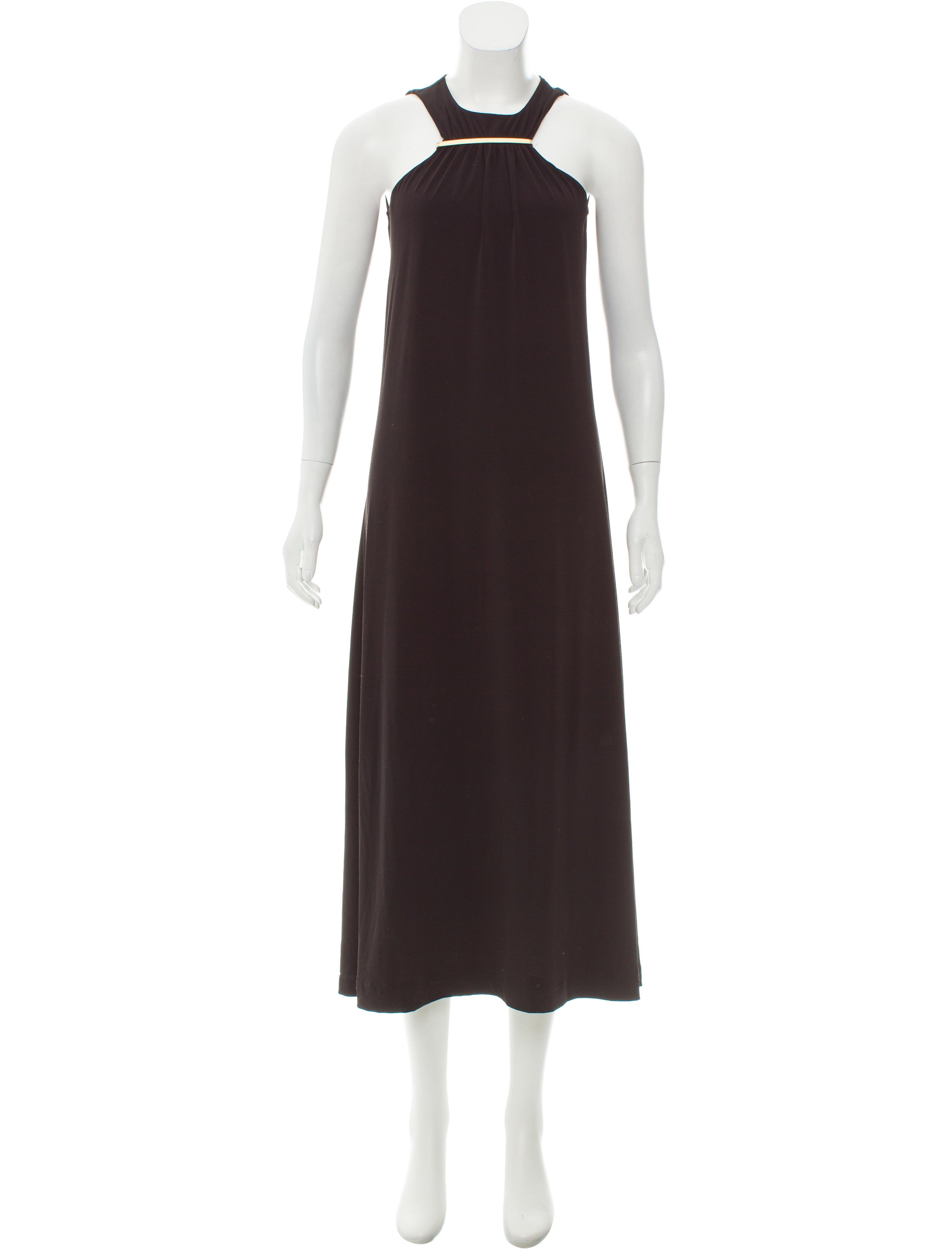 Michael Michael Kors Sleeveless Evening Dress - Clothing - WM525776 ...