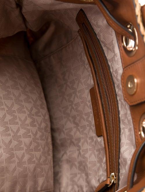 b53eebd95903 Michael Michael Kors Large Krissy Straw Backpack - Handbags ...