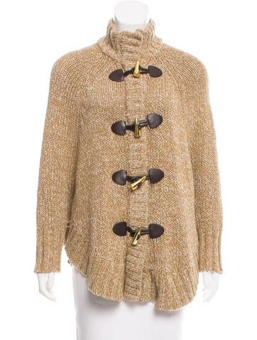 Michael Michael Kors Ribbed Oversize Cardigan None