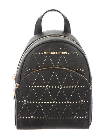 Michael Michael Kors Leather Abbey Backpack None