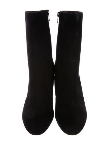 Yoonie Suede Ankle Boots