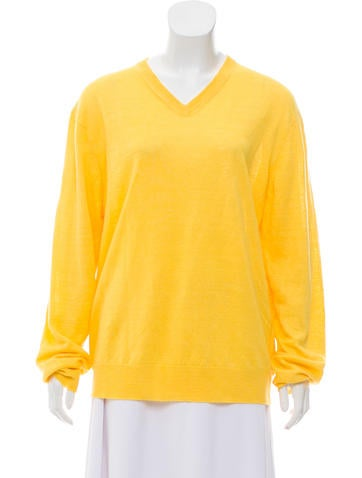 Michael Michael Kors Long Sleeve Linen Sweater None