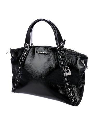 e9ff5dbcb577 Michael Michael Kors Sadie Patent Leather Satchel w/ Tags - Handbags -  WM530044   The RealReal