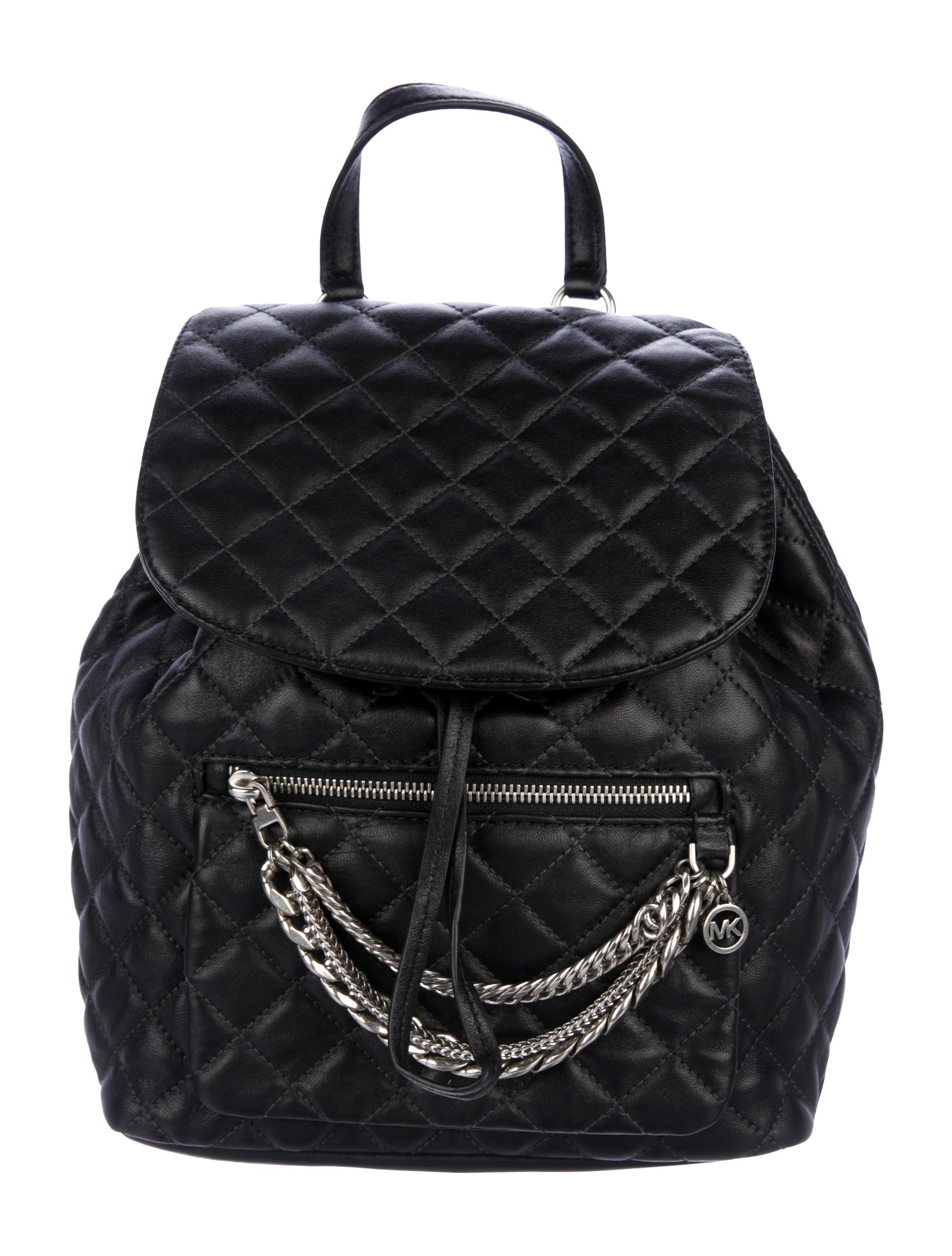 a110f7cb4490 Michael Michael Kors Cheyenne Quilted Drawstring Backpack - Handbags ...