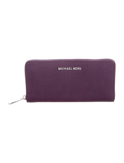 91e5f01e3b12 Michael Michael Kors Jet Set Zip Continental Wallet w  Tags ...