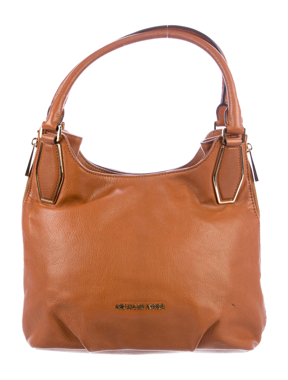 223c3b0113b4fd Michael Michael Kors Grained Leather Tote - Handbags - WM536859 ...