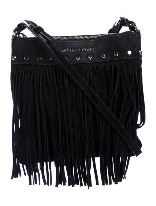 38694e606600b7 Michael Michael Kors Billy Fringe Crossbody Bag - Handbags ...