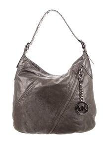 25129c9798004 Michael Michael Kors. Leather Hobo Bag