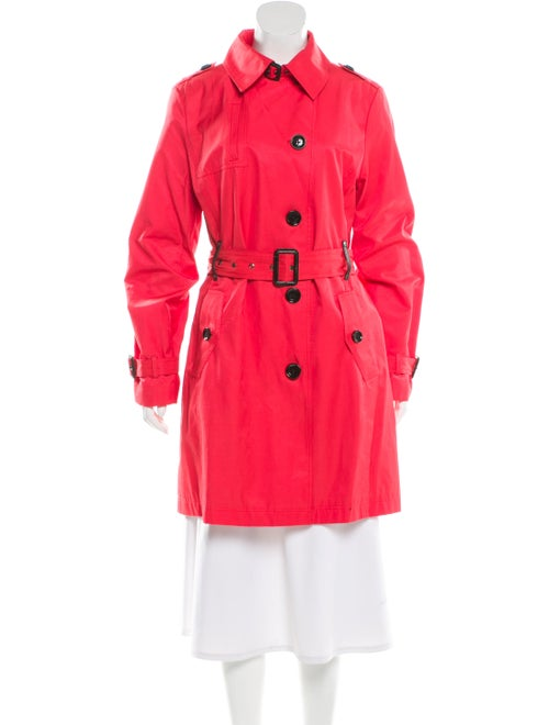 Michael Michael Kors Trench Coat Pink