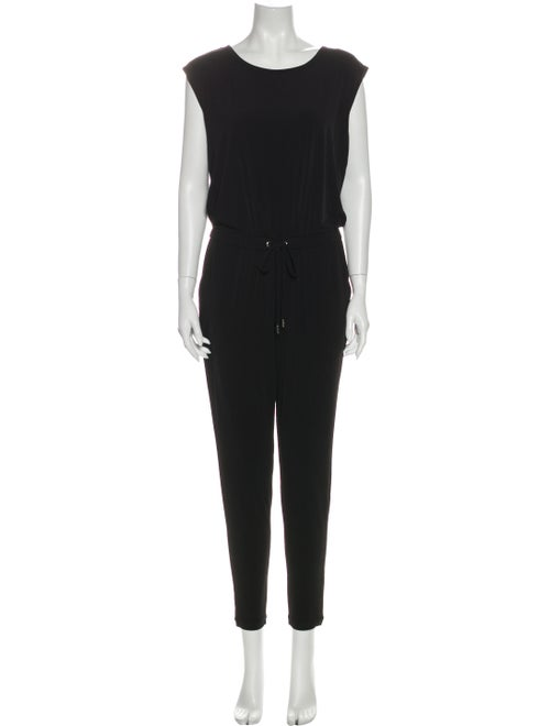 Michael Michael Kors Short Sleeve Jumpsuit Scoop N