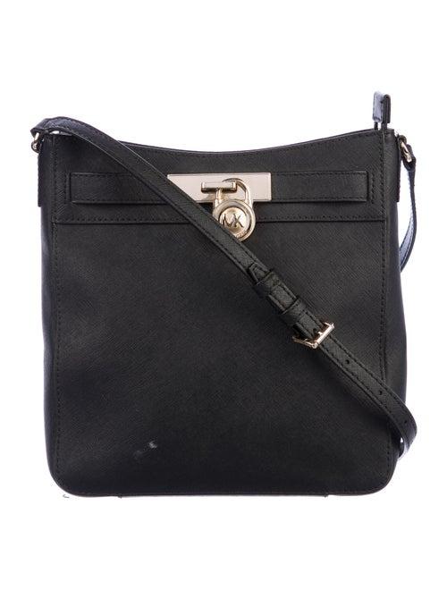 Michael Michael Kors Leather Crossbody Bag Black