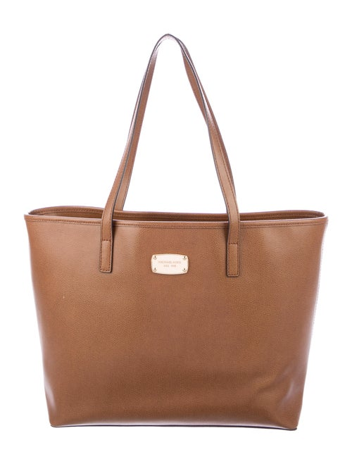 Michael Michael Kors Large Leather Tote Brown