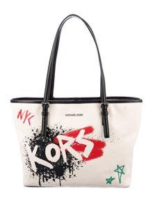 Michael Michael Kors Graffiti Carry All Tote