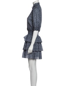 Michael Michael Kors Printed Mini Dress