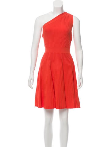 Milly One-Shoulder Knit Dress w/ Tags None