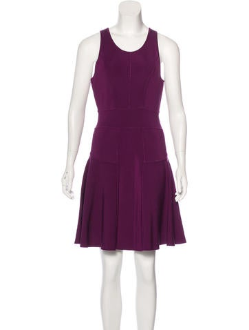 Milly Sleeveless Flared Dress None