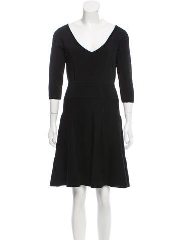 Milly Knit Mini Dress None