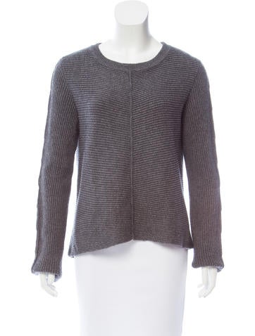 Milly Rib Knit Sweater None