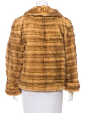 Cropped Mink Jacket w/ Tags