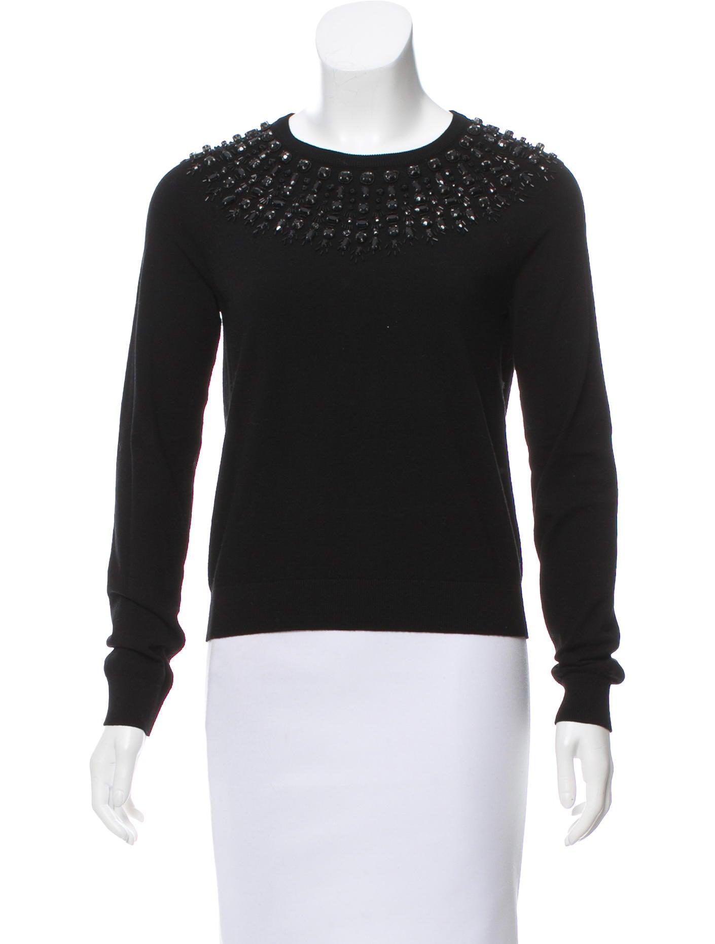 b8ada067886 Milly Embellished Knit Sweater - Clothing - WM623948