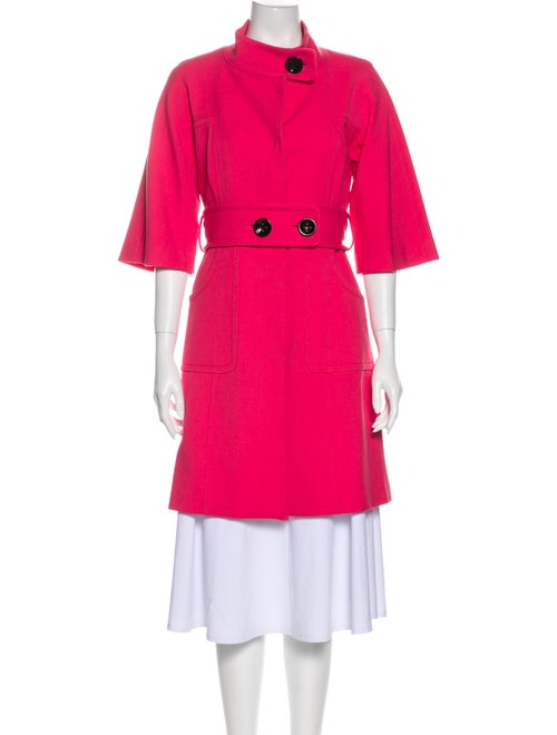 Milly Trench Coat Pink