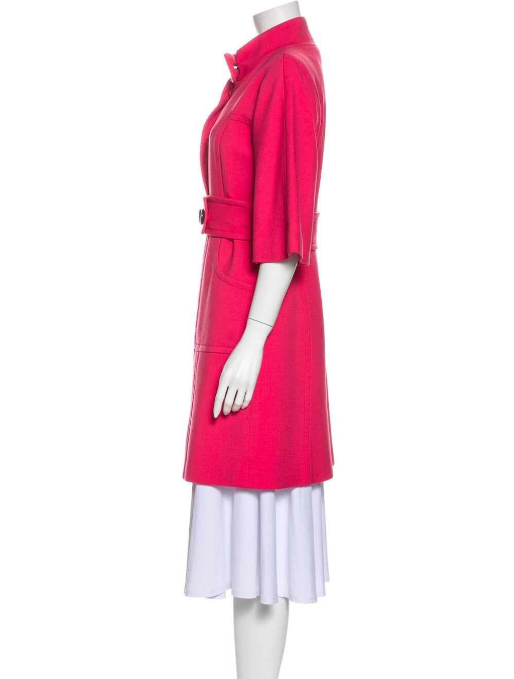 Milly Trench Coat Pink - image 2